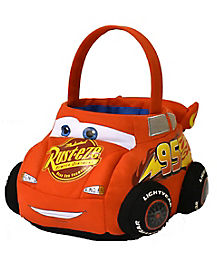 Lightning McQueen Plush Treat Bucket - Cars