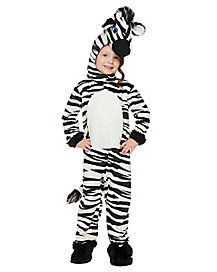 Toddler Zebra One Piece Costume