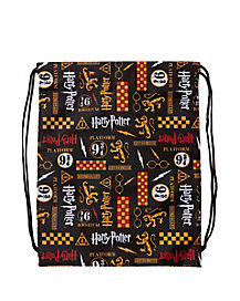 Gryffindor Cinch Bag - Harry Potter