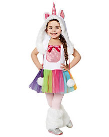 Toddler Vivid Unicorn Costume