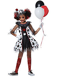 kids creepy clown costume - Scary Halloween Costumes For Children