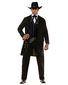 Adult Western Gambler Costume