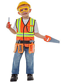 Toddler Construction Worker Costume