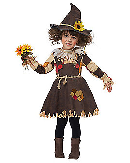 Toddler Sweet Scarecrow Costume