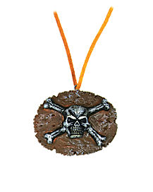 Kids Pirate Medallion