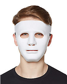 Adult White Mask