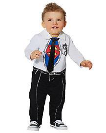 Baby Superman Clark Kent Costume - DC Comics