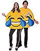 Adult Laughing Emoji Costume
