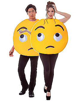 Rolling Eyes Emoji Costume