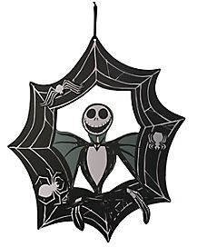 17 Inch Jack Skelington Wreath - The Nightmare Before Christmas