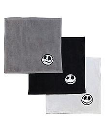 Jack Skellington Washcloth 6 Pack - The Nightmare Before Christmas