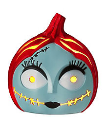 Sally Light Up Pumpkin - The Nightmare Before Christmas