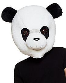 Panda Hood Mascot Mask