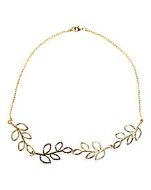 Roman Leaf Necklace
