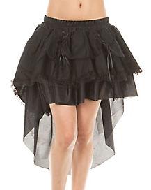 Black High Low Tutu Skirt
