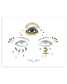 Third Eye Celestial Face Decal