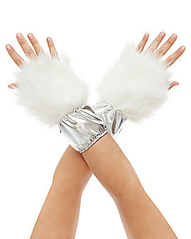 Faux Fur Unicorn Glove