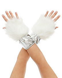 Faux Fur Unicorn Glove