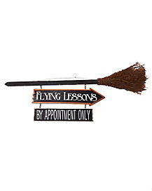 Flying Lessons Sign - Decorations