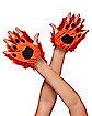 Faux Fur Fox Gloves
