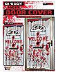 Bloody Welcome Door Cover