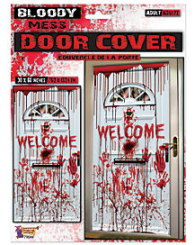 Bloody Welcome Door Cover