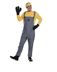 Adult Minion One Piece Costume - Despicable Me