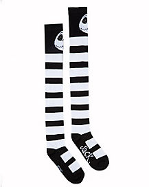 Jack Skellington Over The Knee Socks - The Nightmare Before Christmas
