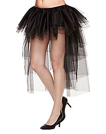Black High Low Tutu