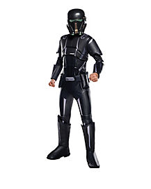 Kids Death Trooper One Piece Costume - Star Wars