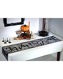 Vintage Halloween Table Runner