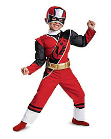 Toddler Red Ranger Costume - Power Rangers Ninja Steel