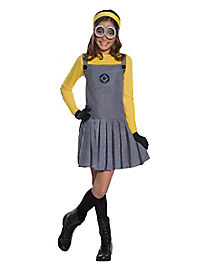 Kids Minions Dress Costume - Despicable Me 3