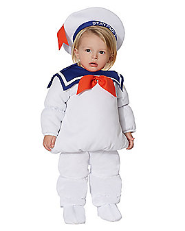 Baby Belly Stay Puft Marshmallow Costume - Ghostbusters