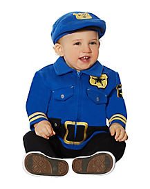 Baby Police One Piece Costume