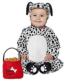 Baby Dalmation Doggie Costume
