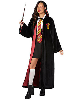Black Gyffindor Quidditch Robe - Harry Potter