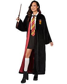 Black Gryffindor Quidditch Robe - Harry Potter