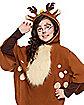 Kids Faux Fur Deer Poncho