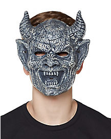 Laughing Brimstone Gargoyle Half Mask
