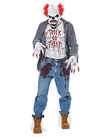 Scary Clown Costume Kit