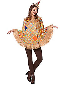 Adult Scarecrow Poncho