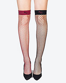 Harley Quinn Knee High Socks - Arkham Knight