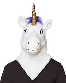 Moving Mouth Unicorn Mask