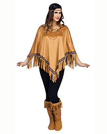 Adult Native American Poncho