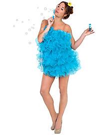 Adult Blue Loofah Costume
