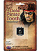 Gold-Tone Pirate Tooth