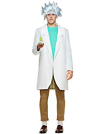 Adult Rick Costume - Rick and Morty