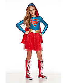 Kid's Supergirl Dress - DC Comics