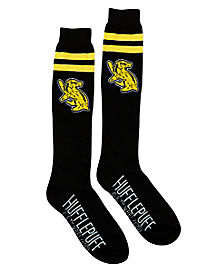 Hufflepuff Knee-high Socks - Harry Potter